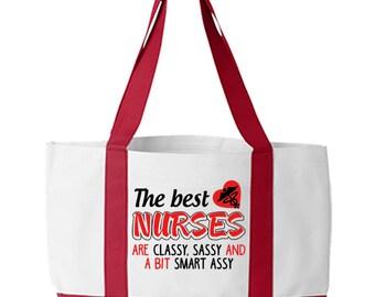 Nurses Week Gift, Nurse Tote Bag, Student Nurse Gift, Nurse Graduation Gift, nurse tote, RN Tote Bag, LPN tote bag, Tote Bag for Nurse