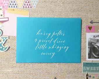 Calligraphy Envelopes (Katrina Style)