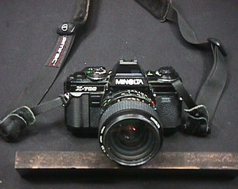 Minolta X-700 35 mm Camera with a Zoom Lens in Good Working Condition