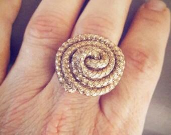 Spiral ring adjustable