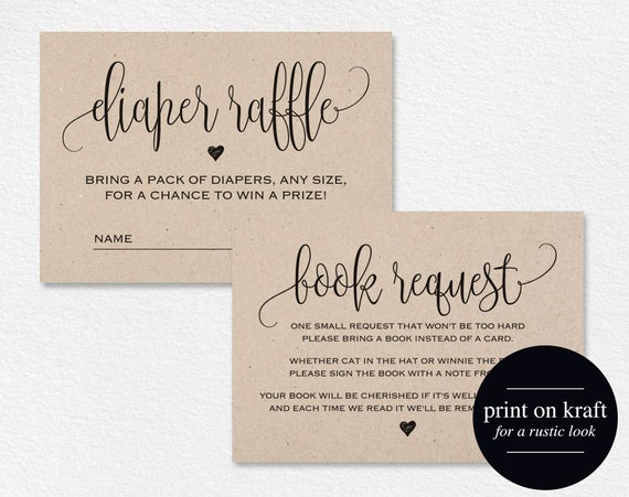 Book request card diaper raffle book request printable book request card diaper raffle book request printable books for the baby book request template pdf instant download bpb3092 reheart Choice Image