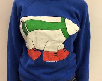 1987 Winter Bear Holiday Sweatshirt