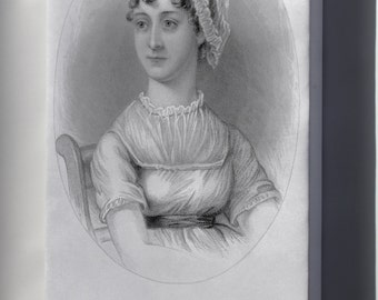 Canvas 24x36; Jane Austen, From A Memoir Of Jane Austen P2 - Copy