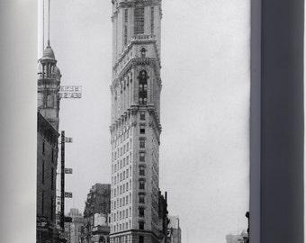 Canvas 16x24; One Times Square Building Flatiron Building P3