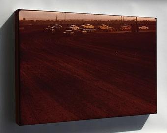 Canvas 16x24; Albuquerque Speedway Park, One Of Three Stock Car Race Tracks Nara 545360
