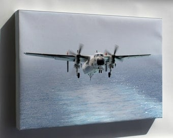 Canvas 16x24; C-2A Greyhound, Fleet Logistics Support Squadron (Vrc) 40