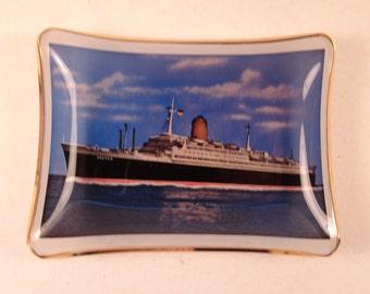 SS Bremen Trinket Dish Norddeutscher Lloyd