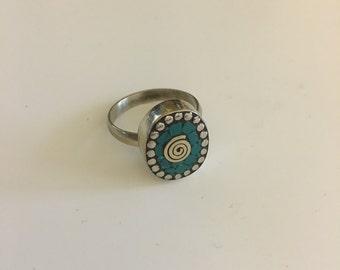 Beautiful boho ring, tribal ring, ethnic ring, gypsy ring, vintage ring