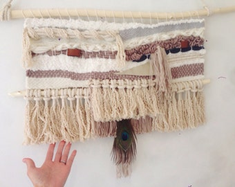 Wall hangings / weaving art/ bohemian wall art
