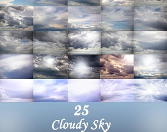 Cloudy and Dramatic Skies...Sky Overlays for Photoshop and Photoshop Elements, Plus Other Layers Based Editing Programs