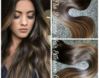 Hair Extensions Custom One Piece Extension Set