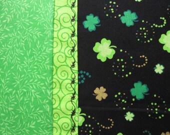 Irish Pillowcase, St. Patrick's Day Pillowcase, Lucky Pillowcase