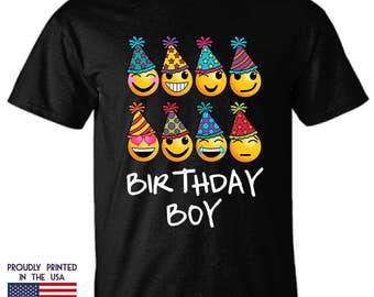 Birthday boy Emoji gift for adults