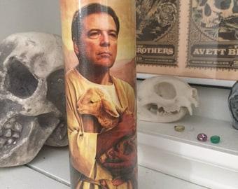 St James Comey FBI Director Prayer Candle
