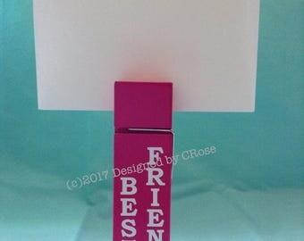 Best Friends Large Pink Paper Clip