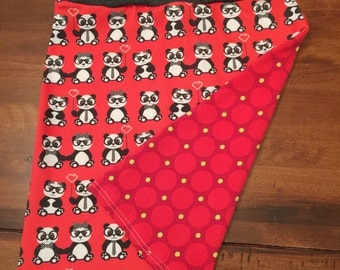 Rainbow Bubba 'Hipster Pandas' Stretch Skirt in Size 5