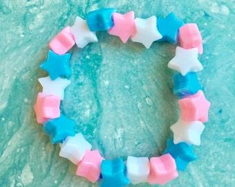 Trans Star Bracelet