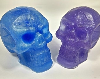 Skull Soap | Halloween Soap | Guest Soap | Toy Soap | Kid Soap |  Kids Bath | Party Favors | Goth