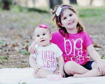Big Sister Hot Pink Shirt/Big Sister Shirts/Toddler Shirts/Toddler Shirt/Gift Ideas/Pregnancy Announcement/Big Sister
