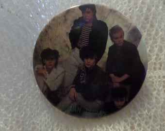 Vintage Classic Rock Duran Duran enamel buttons or pins