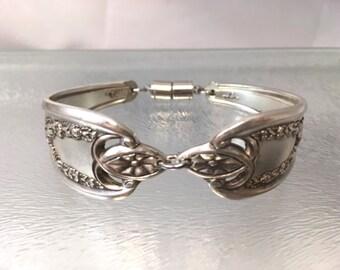 Spoon Bracelet | Old Colony | Old Colony Bracelet| spoon jewelry, silverware jewelry, silverware bracelet, vintage bracelet, unique gift