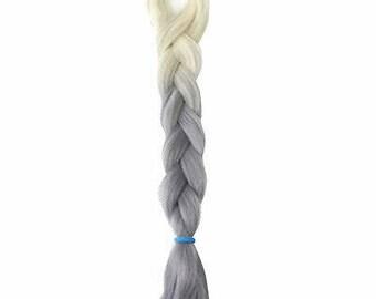 Balayage, Ombre,Dip Dye, Colour Melt,Jumbo Braid Hair, Kanekalon hair, Hair Extensions