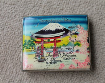 Vintage Cigarette Case 'Memories of Japan and Korea'