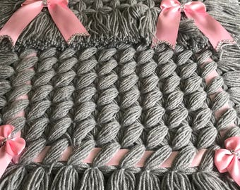Handcrafted Baby Pram Cover