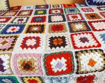 how to change wool on a granny square