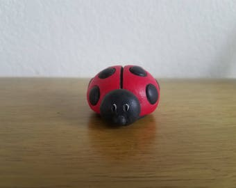 Ceramic Small Lady Bug (#903)