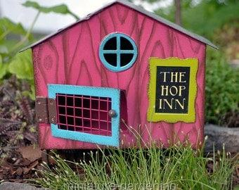 Rabbit Hutch for Miniature Garden, Fairy Garden