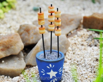 Roasted Marshmallows for Miniature Garden, Fairy Garden