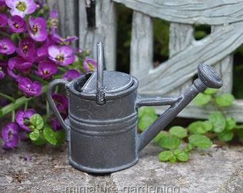 Garden Watering Can for Miniature Garden, Fairy Garden