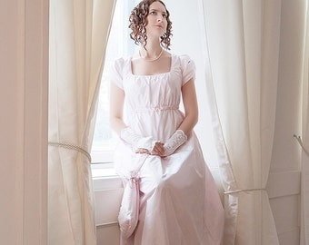 Regency gown wedding dress Pride and Prejudice Jane Austen