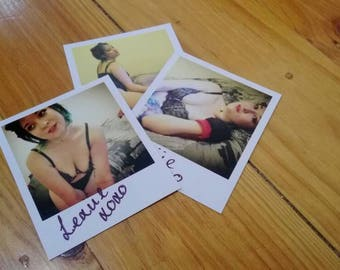 Lexiie - Set 1 Polaroid print Luna cosplay