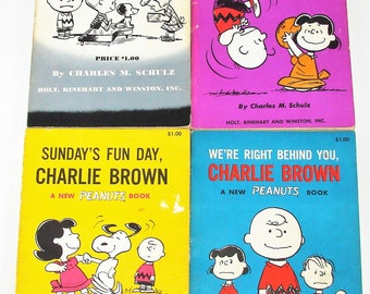 1960s Charlie Brown Books Some First Editions Very Cool Walk Back In Time