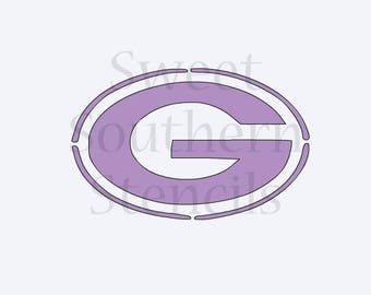 Sports G with 2 Options Cookie Stencil
