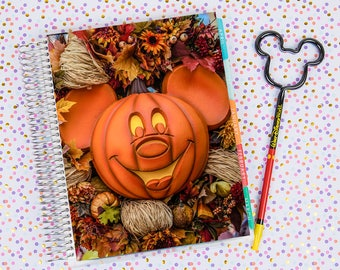 Disney World Erin Condren Life Planner Cover INSTANT DOWNLOAD - Halloween 1