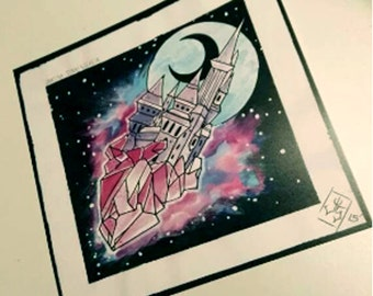 Crystal Castle print
