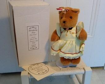 """Mary Dun""""bear"""" part of the Mary Dunbar collection autumn leaf pieces."""
