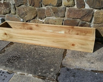 Hand Made Wooden WIndow Box/Flower/Herb Planter 120cm  Free Delivery