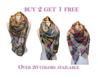 Blanket Scarf, Plaid Blanket Scarf, Tartan Plaid Scarf, Tartan Scarf, Oversized Scarf, Oversized Blanket Scarf, Plaid Scarf, Winter Scarf