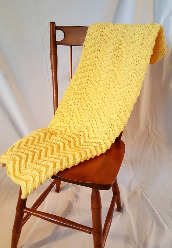 Baby Blanket - Honey Bee Yellow