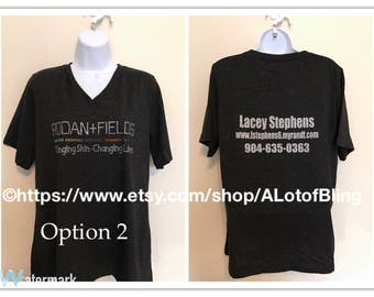 Rodan + Fields Rhinestone T-Shirt