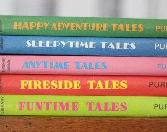 Enid Blyton hardback story books - Purnell Sunshine Library