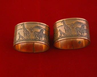 African Napkin rings by Simba