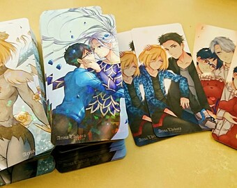 Victuuri Otayuri YOI Prism Bookmarks