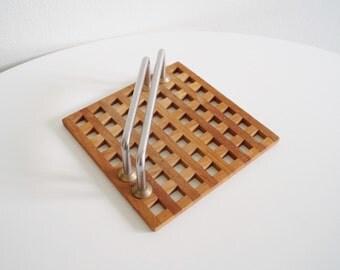 trip trap napkin holder napkin dispencer tissue holder coffee filter dispencer mid century modern danish design