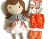 """Doll clothing set for rag dolls, doll accessories ideal gift for preschoolers, kids toy playing set, dress up doll clothing set 19"""" dolls"""