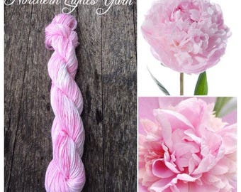 Peony hand-dyed cotton yarn